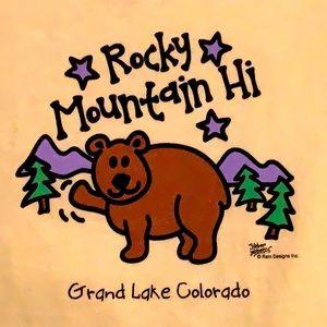 Rocky Mountain Hi, Grand Lake, Colorado, Tee, NWT